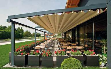Retractable Pergola Canopy Covers - Awnings, Roofs  Shades