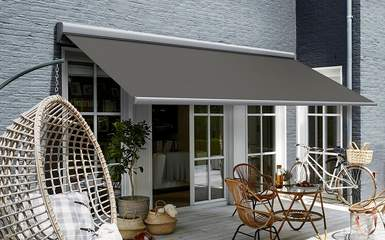 Retractable Lateral Arm Patio  Deck Awnings