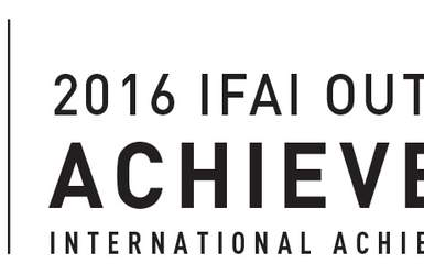 IAA 2016 IFAI Outstanding Achievement Award