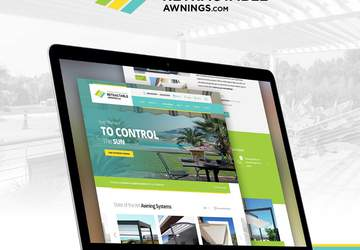 new retractable awning responsive patio cover website
