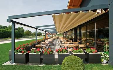 Retractable Pergola Canopy Covers Patio Deck Amp Porch Roofs