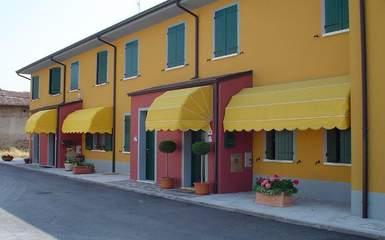 Pisa model door awnings and canopies