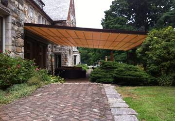 siracusa retractable patio deck pergola cover system