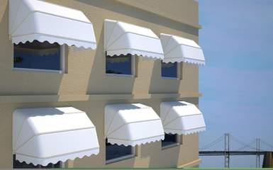 retractable canopy window door awnings