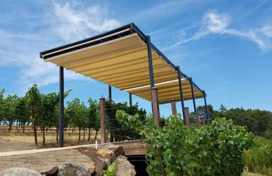 retractable waterproof deck patio pergola cover systems