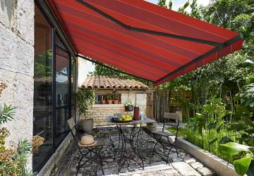Motorized Electric Patio And Outdoor Awnings Retractable Awnings