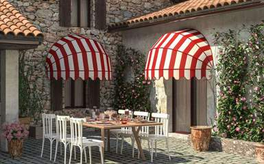 Colosseo by Retractable Awnings