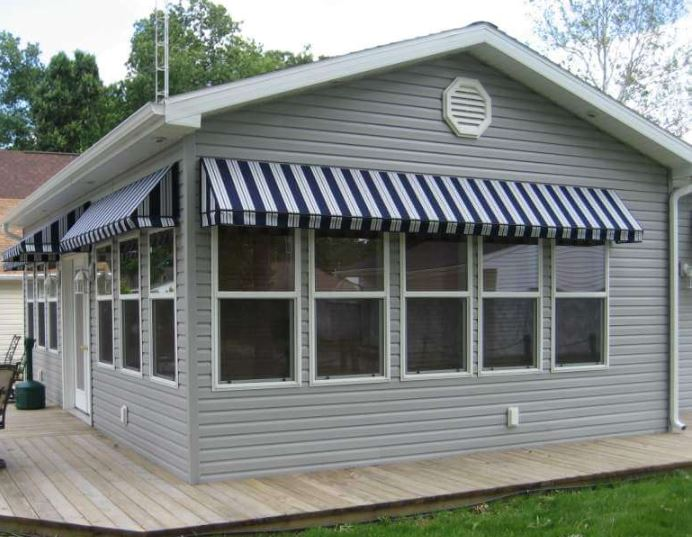 commercial retractable canopy awnings