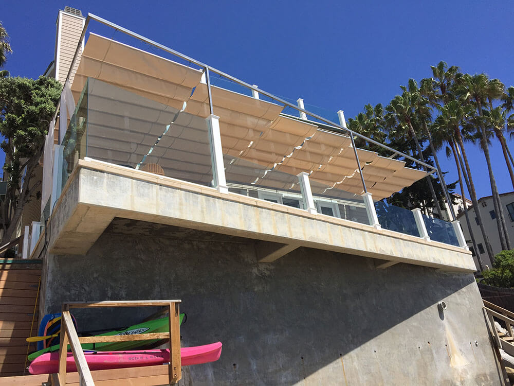 retractable residential awnings