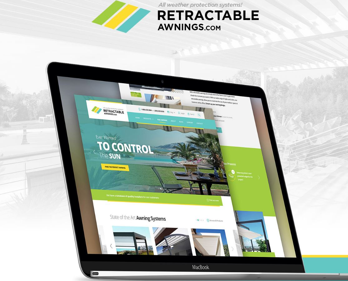 new retractable awning responsive patio cover retractable awning website