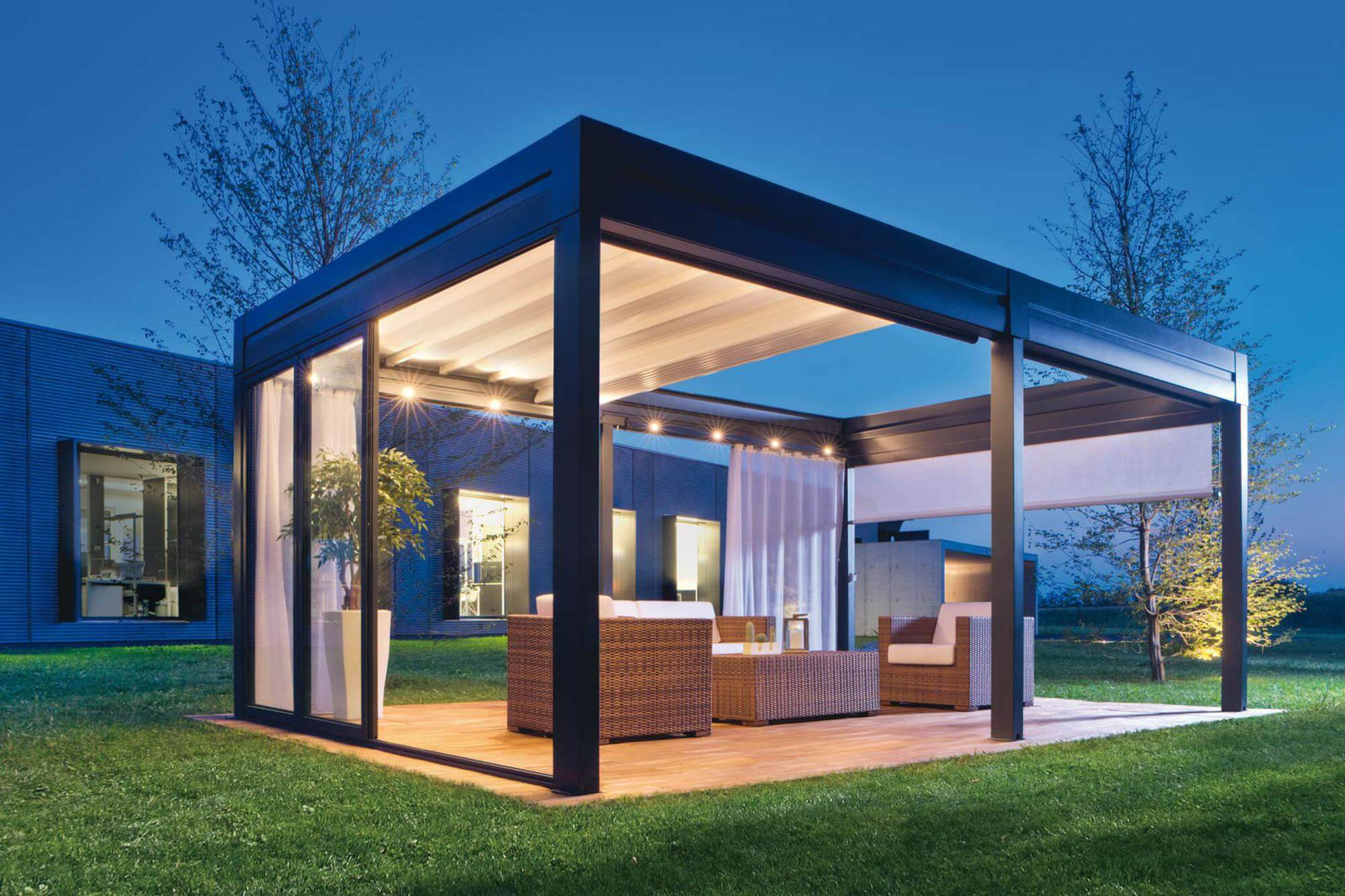 What Is A Pergola With A Roof Retractableawnings Com