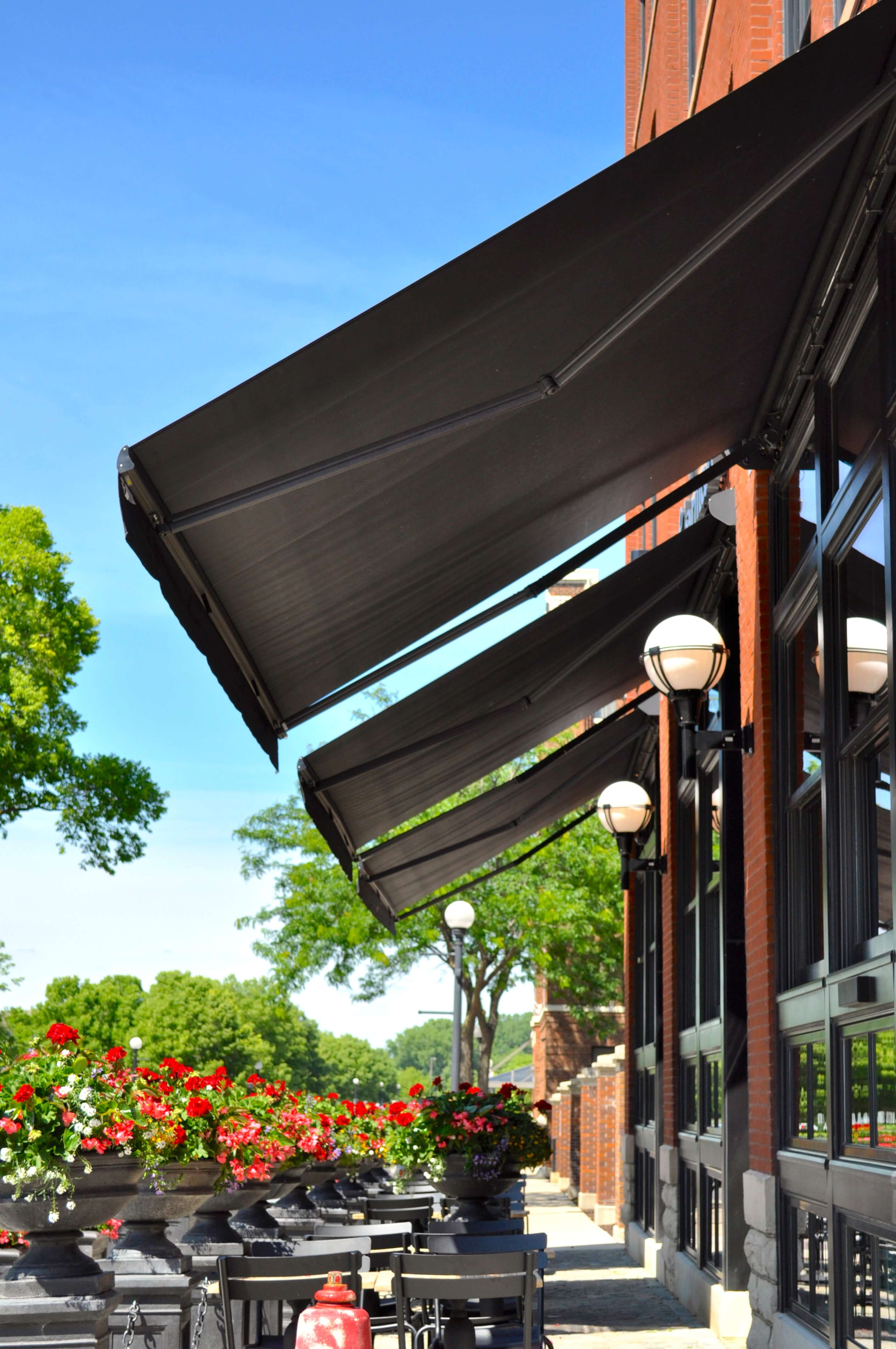 charmant hotel palermo plus retractable folding lateral arm awnings