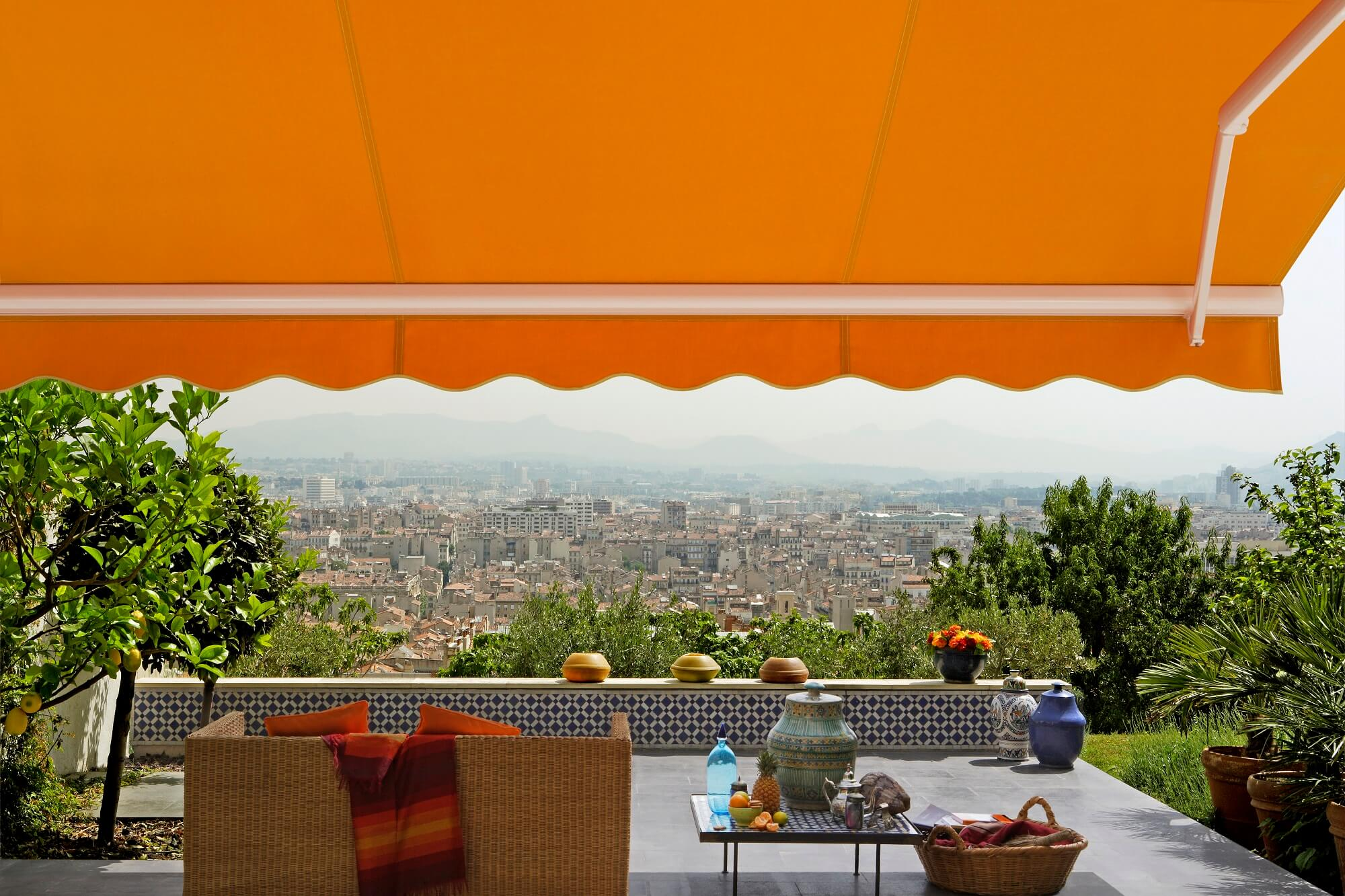 The Palermo Retractable Awning Retractableawnings Com