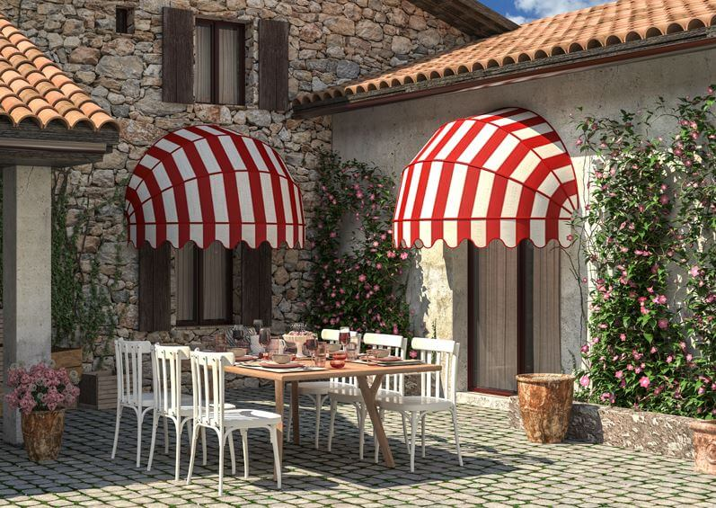 The Colosseo Window Canopy Awning Retractableawnings Com