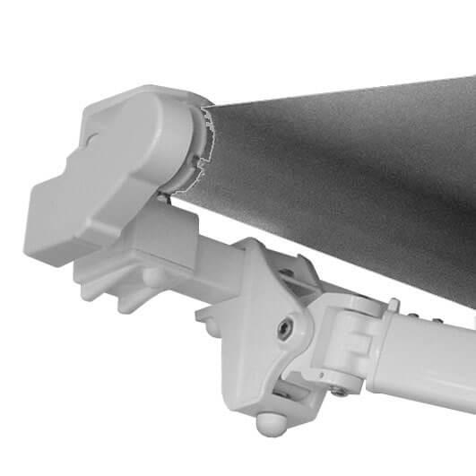 palermo end cap roller tube shoulder arm square bar